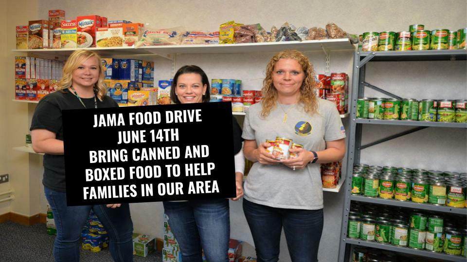 JAMA Food Drive - May 29 2020