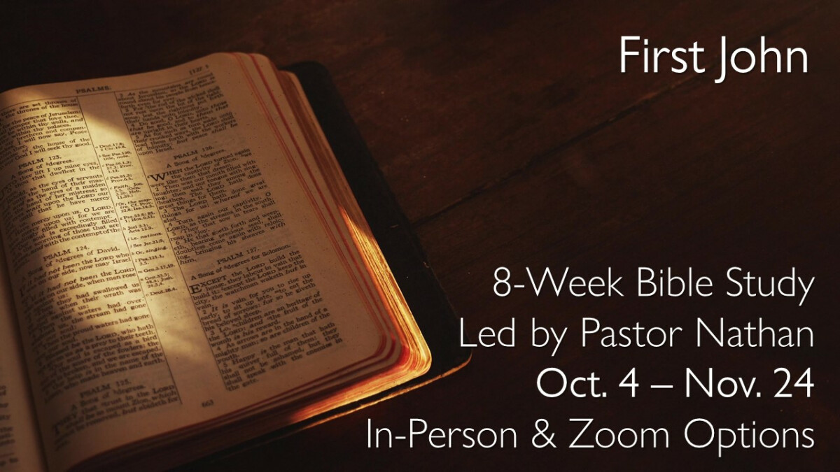 Fall Bible Study (Zoom)